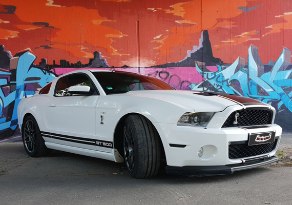 Mustang GT 500 Shelby SVT. 558 PS, 5.4 l
